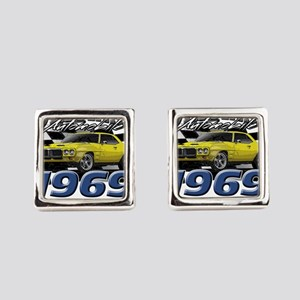 1969 Firebird Square Cufflinks