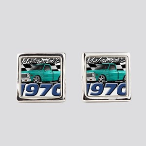 1970 Pickup Square Cufflinks