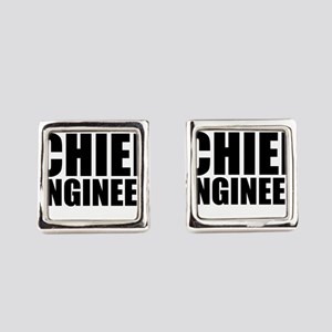 Trust Me, I'm A Chief Engineer Square Cufflink