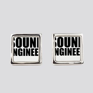 Trust Me, I'm A Sound Engineer Square Cufflink