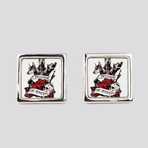 Release the Hounds Sansa Square Cufflinks