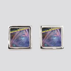 fourth-dimension-space Square Cufflinks