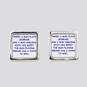 cribbage Cufflinks