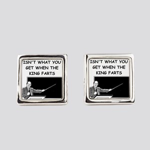 CHEM2 Square Cufflinks