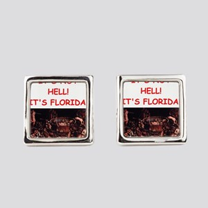 florida Square Cufflinks