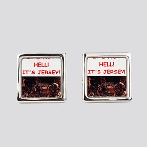 new jersey Square Cufflinks
