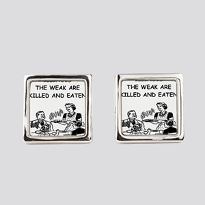 illinois Square Cufflinks