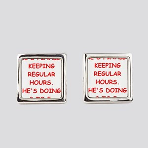 ex husband Square Cufflinks