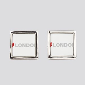 Hashtag London Square Cufflinks
