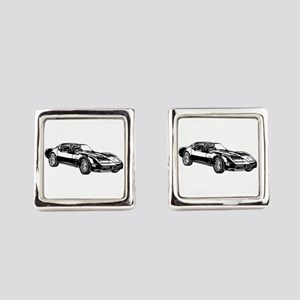 Dodge Viper Square Cufflinks