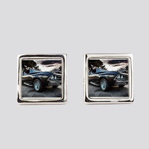 1969 Chevelle Square Cufflinks