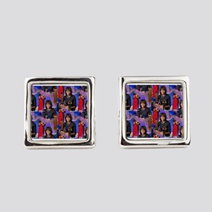 Michelle Obama Square Cufflinks