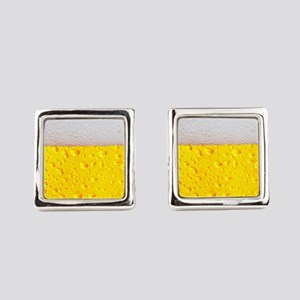 Realistic Beer Square Cufflinks