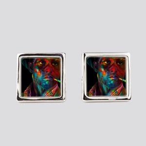 hunter s thompson Square Cufflinks
