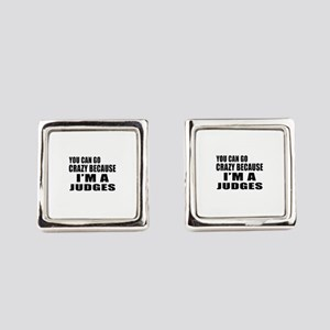I Am Judges Square Cufflinks