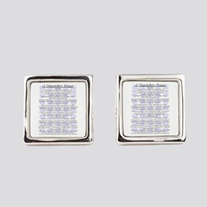 DISPATCHERS PRAYER Cufflinks