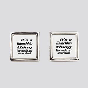 Munchkin Thing You Would Not Unde Square Cufflinks