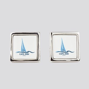 Cape Ann. Square Cufflinks