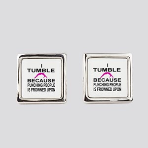 I Tumble Square Cufflinks
