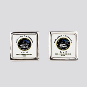 Pcu Kennedy Square Cufflinks