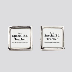Special Ed. Teacher Square Cufflinks
