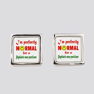 I'm perfectly normal for a Psychi Square Cufflinks