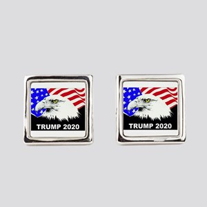 Trump 2020 American Eagle Square Cufflinks