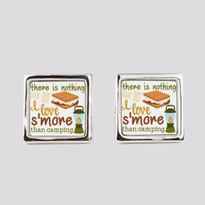 There Is Nothing I Love S'more Square Cufflink