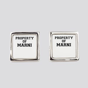 Property of MARNI Square Cufflinks