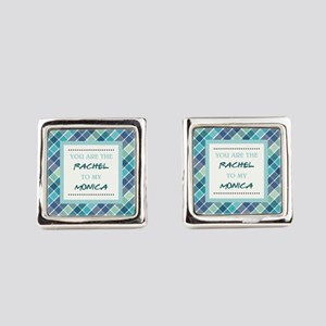 RACHEL to MONICA Square Cufflinks