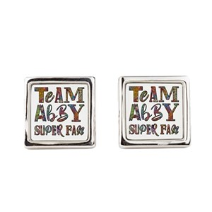 SUPER FAN Square Cufflinks