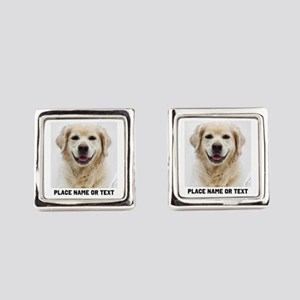 Dog Photo Customized Square Cufflinks