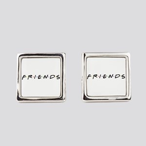 Friends are funny Square Cufflinks