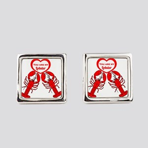 Friends Lobster Square Cufflinks