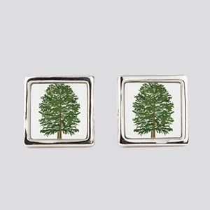 TREE Square Cufflinks