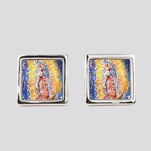 Lady of Guadalupe, art! Cufflinks