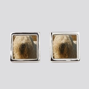 komondor Square Cufflinks