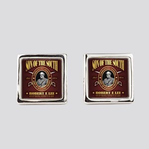 General Robert E Lee Square Cufflinks