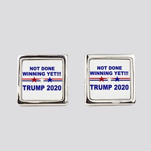 Not done winning yet! Square Cufflinks