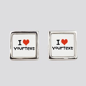 CUSTOMIZE I heart Cufflinks