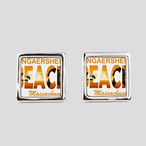 Massachusetts - Wingaersheek Square Cufflinks