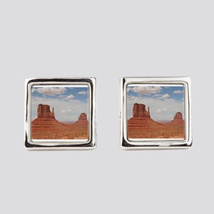 Monument Valley, Utah Square Cufflinks