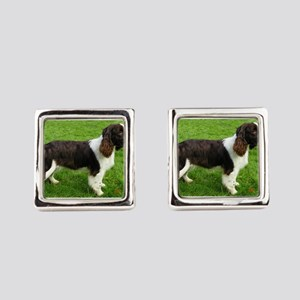 english springer spaniel liver full Square Cufflin