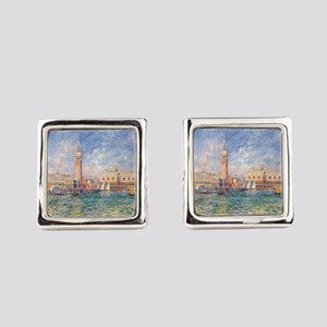 The Doge's Palace, Venice Square Cufflinks