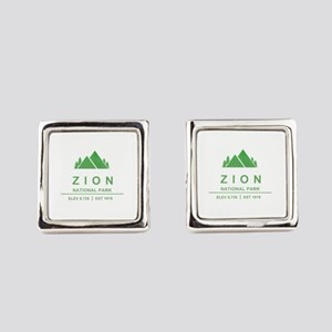 Zion National Park, Utah Square Cufflinks