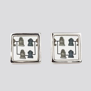 GeneaologyResearch112810 Square Cufflinks