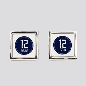 GOAT 12 Square Cufflinks