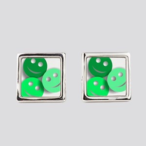Umsted Design All Smiles Square Cufflinks