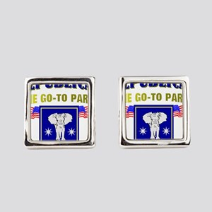 GOP Square Cufflinks