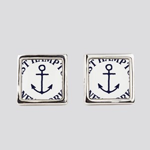 Summer East Hampton- New York Square Cufflinks